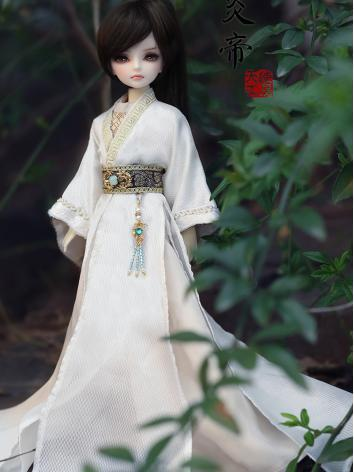 Bjd Clothes 1/6 Baby clothes fullset --Cloud (Starry body) CL620161228 for YSD Ball-jointed Doll