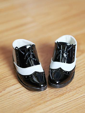 Bjd Boy Black&White Shoes f...