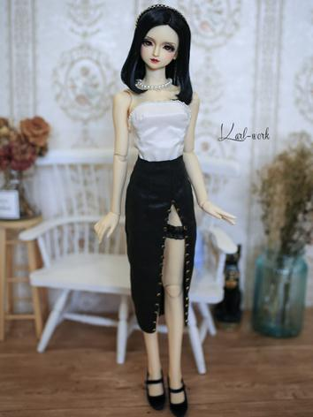 BJD Clothes Girl White Lady...