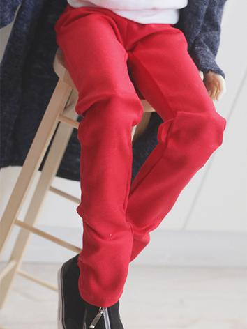 BJD Clothes Yellow/Green/Red Trousers for SD/SD17/70CM Ball-jointed Doll