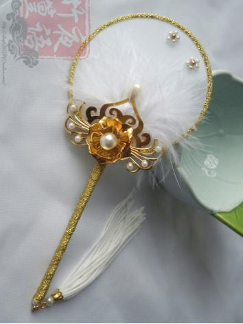 BJD Accessaries Chinese Ancient Fan For SD Ball Jointed Doll