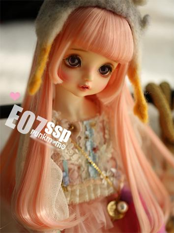 1/3 Wig Girl Pink/Chocolate...