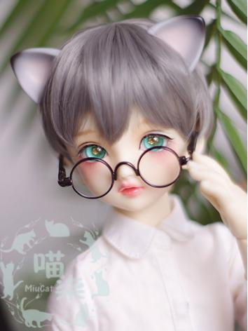 1/3 Boy Wig Dark Gray Short...