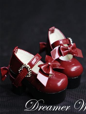 1/4 Shoes Sweet Girl High-heels for MSD Ball-jointed Doll