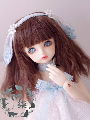BJD Girl Wig Brown Wig for ...