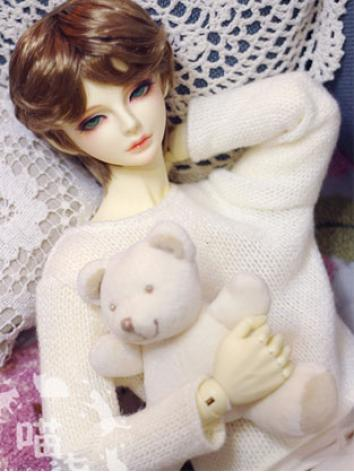 BJD Clothes Boy White/Pink/...