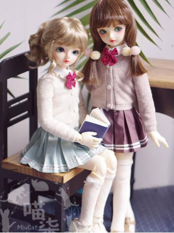 BJD 1/4 Clothes Girl School...
