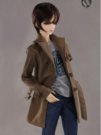 Bjd Clothes 70+ Coffee Wind...