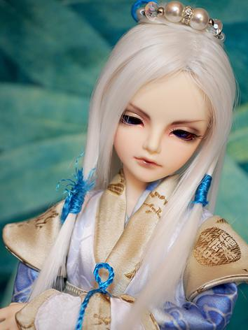1/4 Wig White Ancient Hair ...