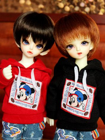 1/6 Clothes Boy/Girl Red/Bl...