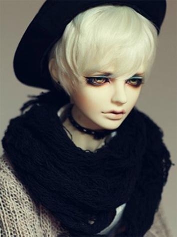 1/3 Wig Boy/Male 9-10inch Short Hair A01 for SD/70cm Size Ball-jointed Doll