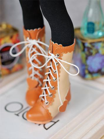 Bjd Shoes Orange/Brown Midd...