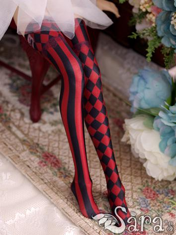 Bjd Socks Lady Blue/Red Pri...