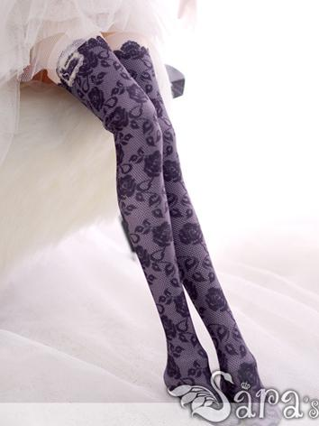 Bjd Socks Lady Printed High...