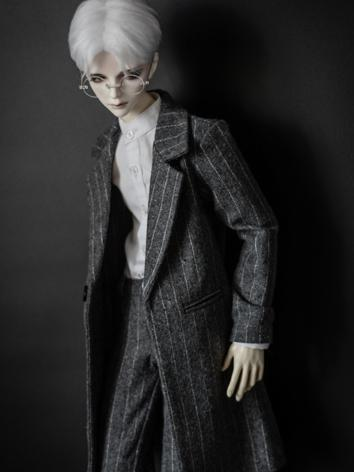 1/3 70cm Clothes Gray Strip...