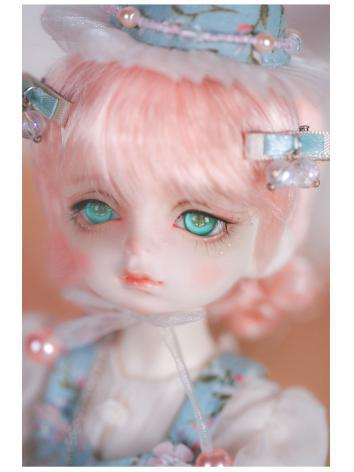 1/6 Wig Girl Pink Hair CDWG6-0011 for YSD Size Ball-jointed Doll