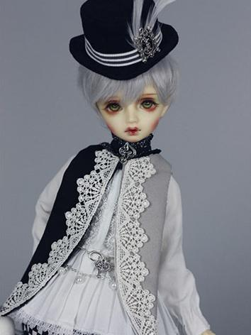 Bjd Clothes White Suit for ...