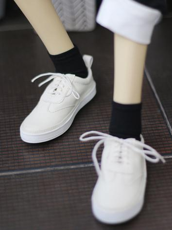 70cm Shoes Male Black/White/Brown Leisure Shoes for 70cm Ball-jointed Doll