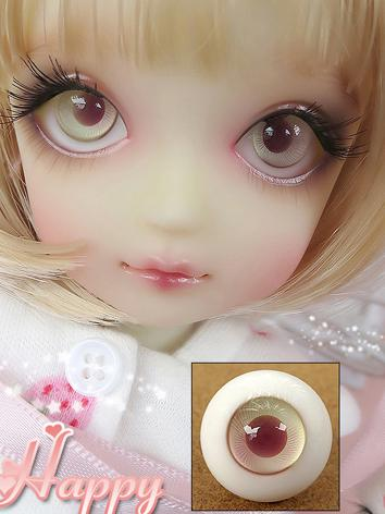 SALES BJD EYES 16MM Eyeballs Pink Iris Ball Jointed Doll