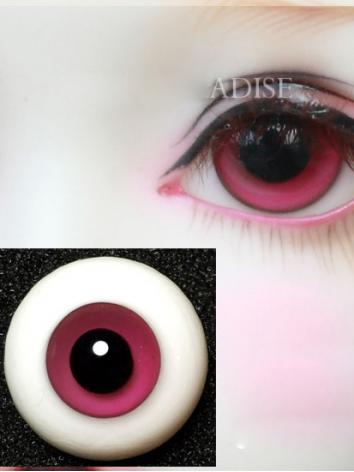 SALES BJD EYES 16MM Rose Eyeballs Black Iris Ball Jointed Doll