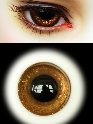 SALES BJD EYES 16MM Brown Eyeballs Black Iris Ball Jointed Doll