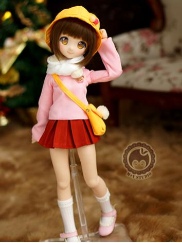 1/4 MSD Clothes Girl/Boy Suit for MSD/MDD Size Ball-jointed Doll