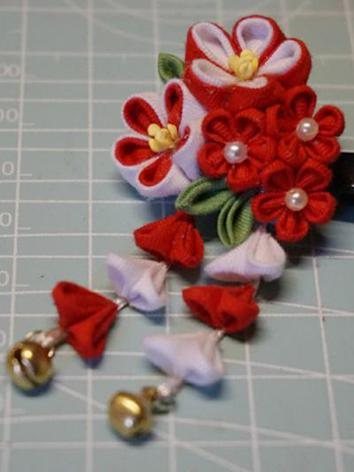 BJD Kimono Hairpin Hairpiece[Yayue]for YOSD/MSD/SD/70cm Ball-jointed doll