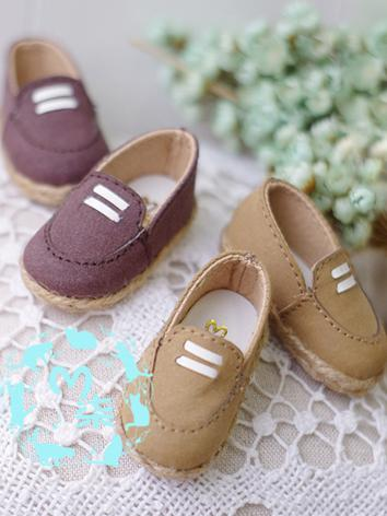 1/6 Shoes Girl/Boy Brown/Pu...