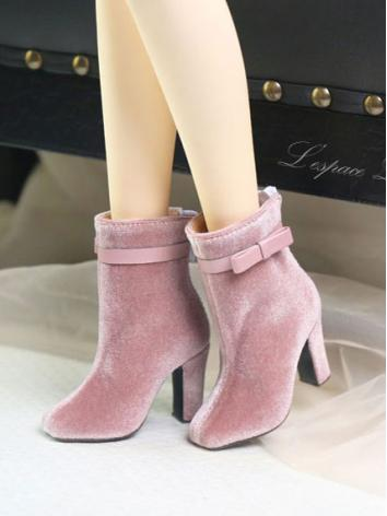 1/3 Girl Shoes High Heels Ankle Boots for SD16/SDGR Ball-jointed Doll