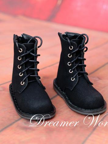 1/3 1/4 1/6 70cm Shoes Male Black Shoes for 70cm/SD/MSD/YSD Ball-jointed Doll