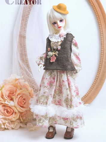 BJD Girl Clothes 1/4 size P...