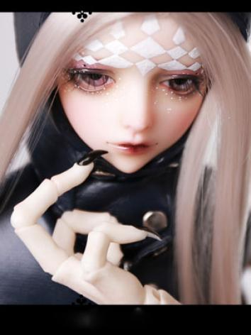 1/4 Doll BJD 43cm Silence Special Girl Boll-jointed doll