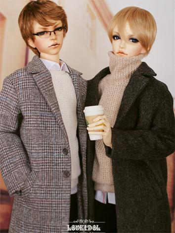 BJD Clothes [Daily-coat G]BOY Suit for SD/SD13/SD17/70CM Size Ball-jointed Doll