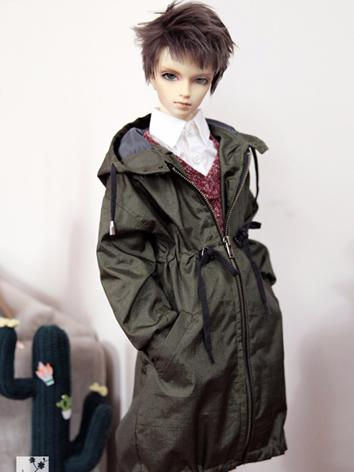 BJD Clothes Male Green/Gray...