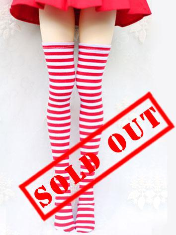 Bjd Socks Boy/Girls Red/Blu...