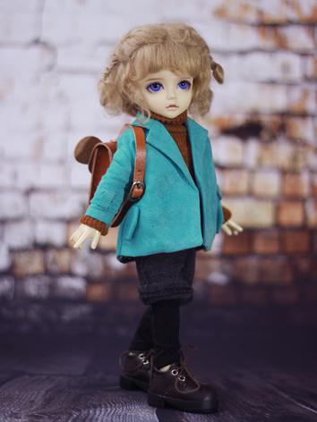 BJD Clothes Boy/Girl Overcoat Suit for YSD Ball-jointed Doll