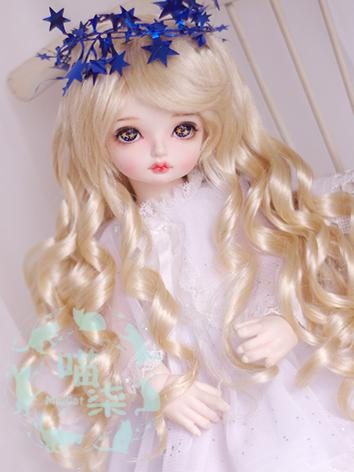 BJD Wig Boy Gold Wig for SD...