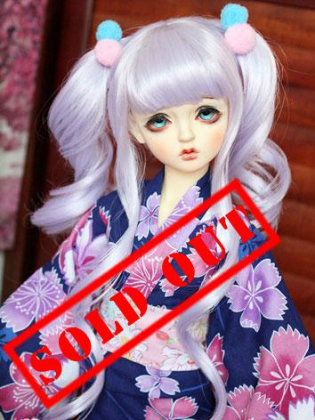 Bjd Clothes Female Kimono Yukata for SD10/MSD Ball-jointed Doll