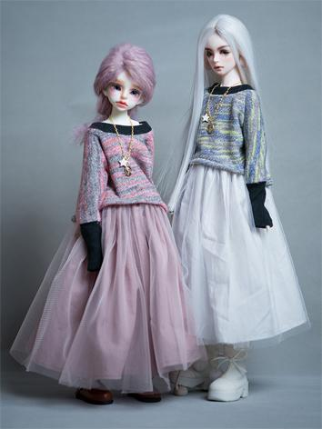 BJD Girl Clothes 1/4 size W...