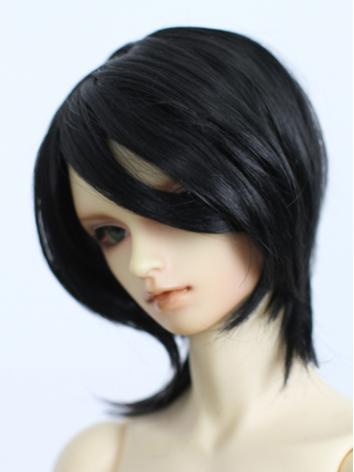 1/3 Wig Black Hair for SD/7...