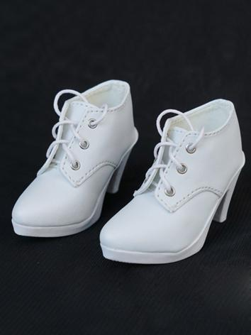 1/3 Girl Shoes White High H...