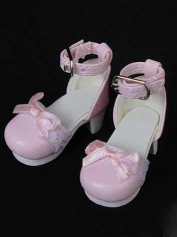 1/6 Shoes Sweet Girl Pink/W...