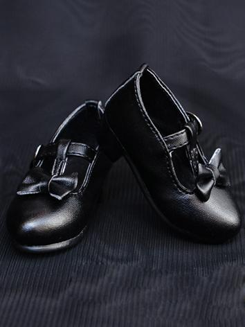 1/3 1/4 Shoes Female Black Shoes for SD/MSD Ball-jointed Doll