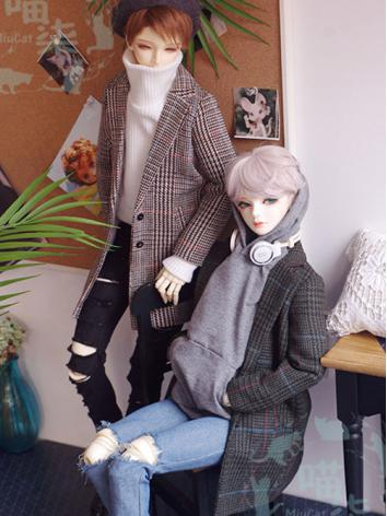 BJD Clothes Boy Gird Windco...