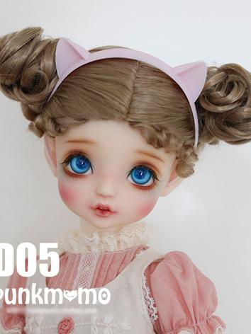 1/3 Wig Girl Brown Hair D05...