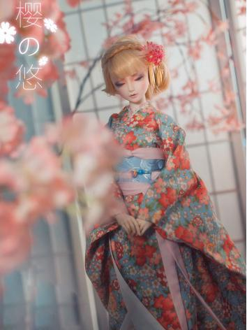 BJD Clothes Boy/Girl Kimono [YingYou] for 75cm/70cm/SD/MSD/YSD Ball-jointed Doll