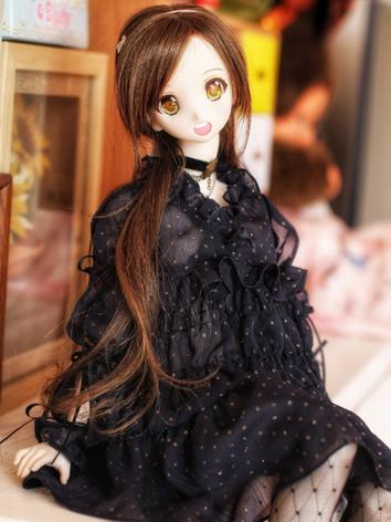BJD Clothes Girl Black Dres...