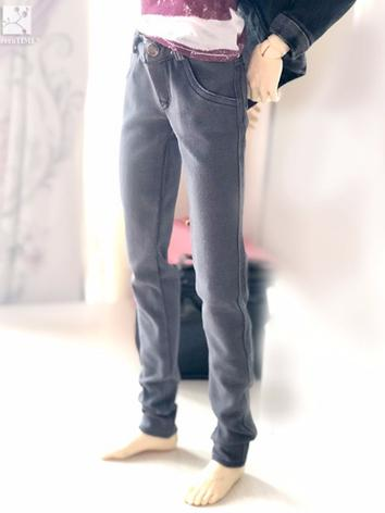 BJD Clothes Boy Gray Jeans ...