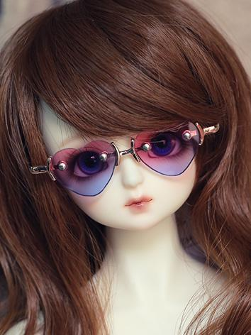BJD Heart Glasses for SD/70cm Ball-jointed doll