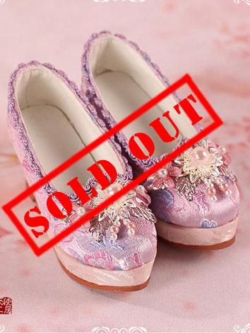 【Limited Edition】Bjd Shoes 1/3 Youth Pink shoes/ oriental cherry SH315061 for SD Size Ball-jointed Doll